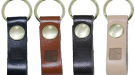 Leather band for landing net
