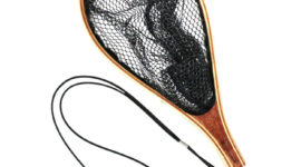 Rubber coating landing net S